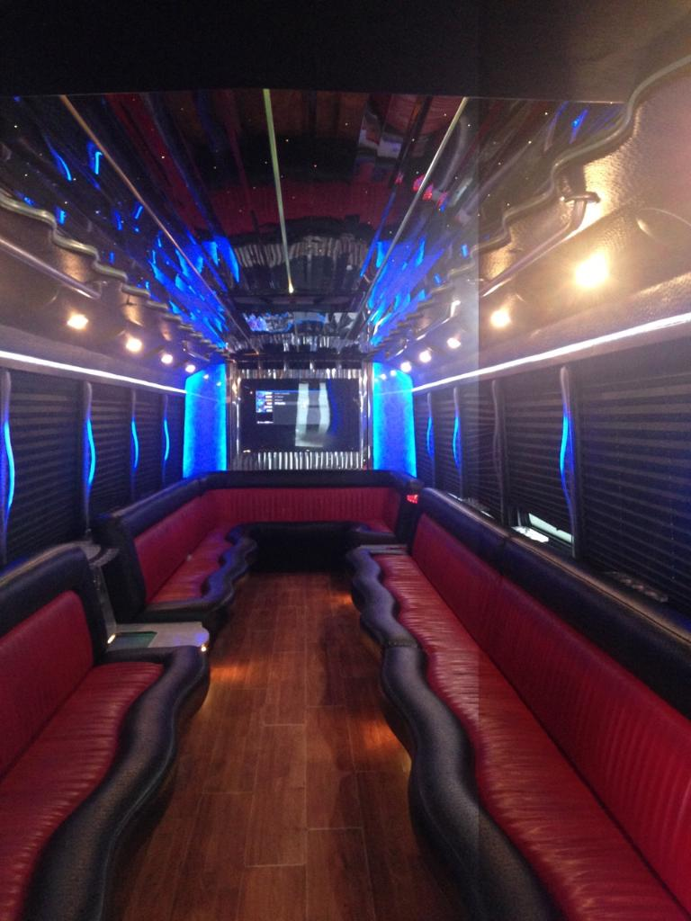 what is a party bus like